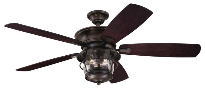 indoor outdoor ceiling fans westinghouse brentford three-light 52-inch five-blade indoor/outdoor  ceiling fan, aged walnut finish vpvzzyj