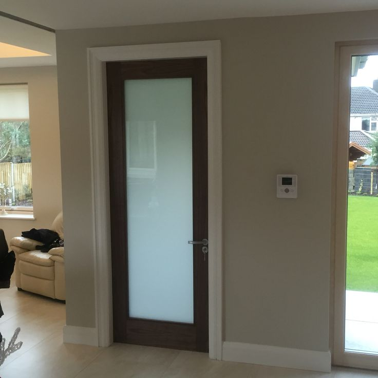 interior frosted glass doors walnut internal door with frosted glass hbzwizj