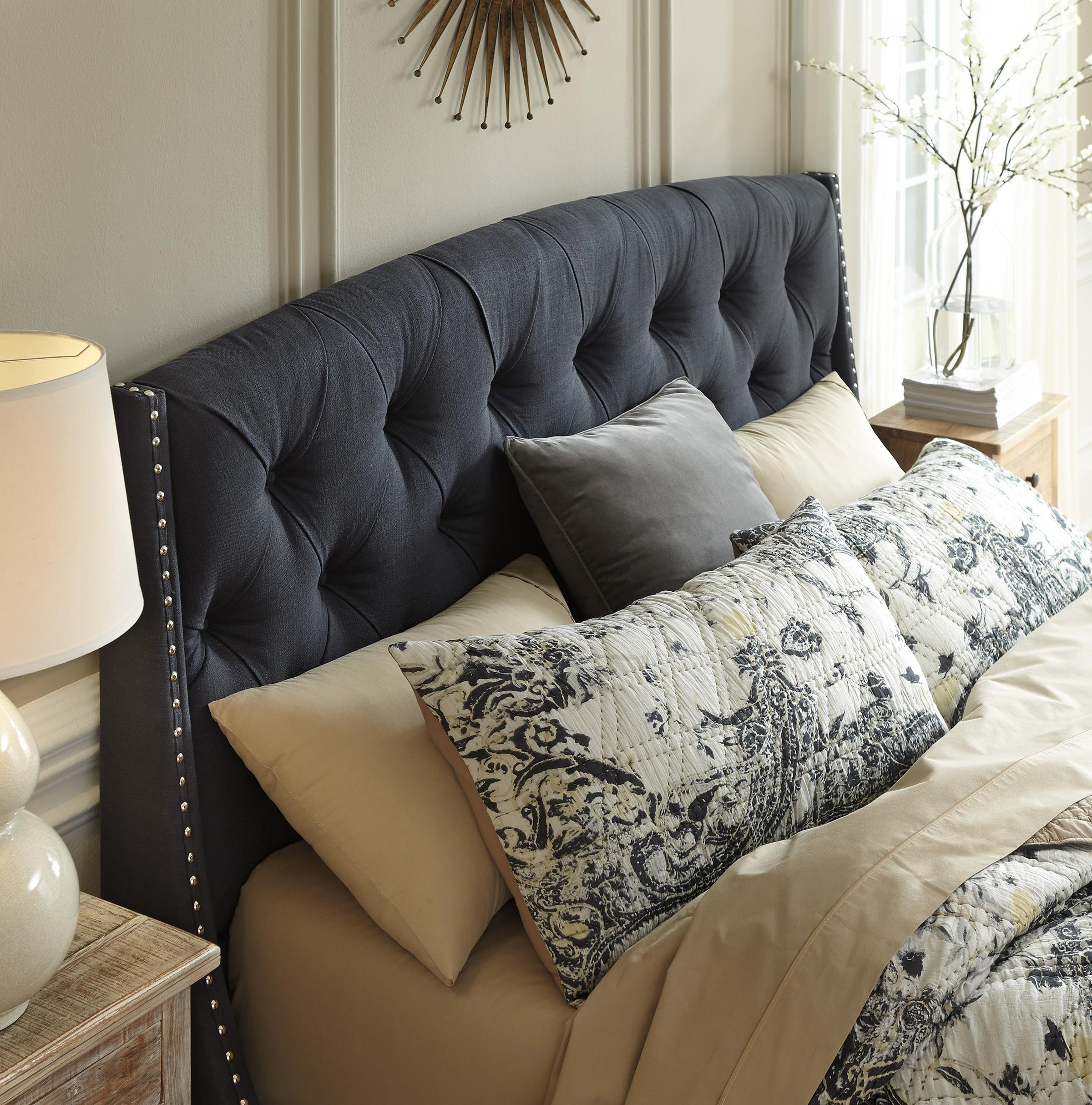 Learn the advantages of king upholstered headboard