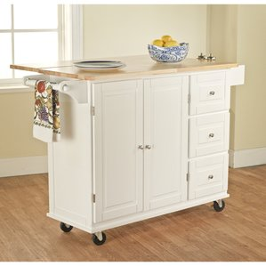 kitchen carts and islands hardiman kitchen island with wood top sqcajvl