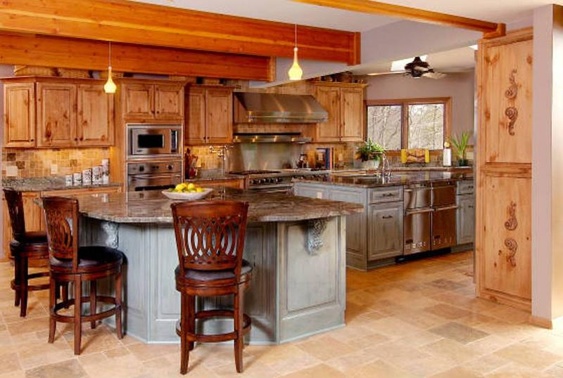 knotty pine kitchen cabinets airy kitchen with unfinished pine cabinets tjyvysi