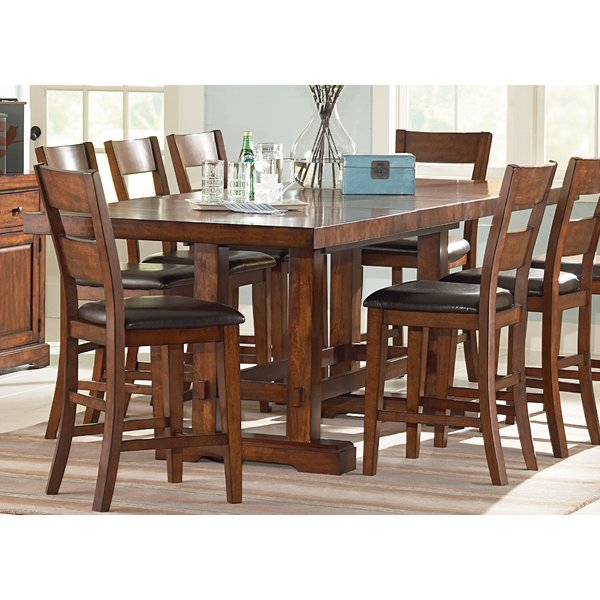 loon peak matterhorn counter height dining table u0026 reviews | wayfair qnrfxgq