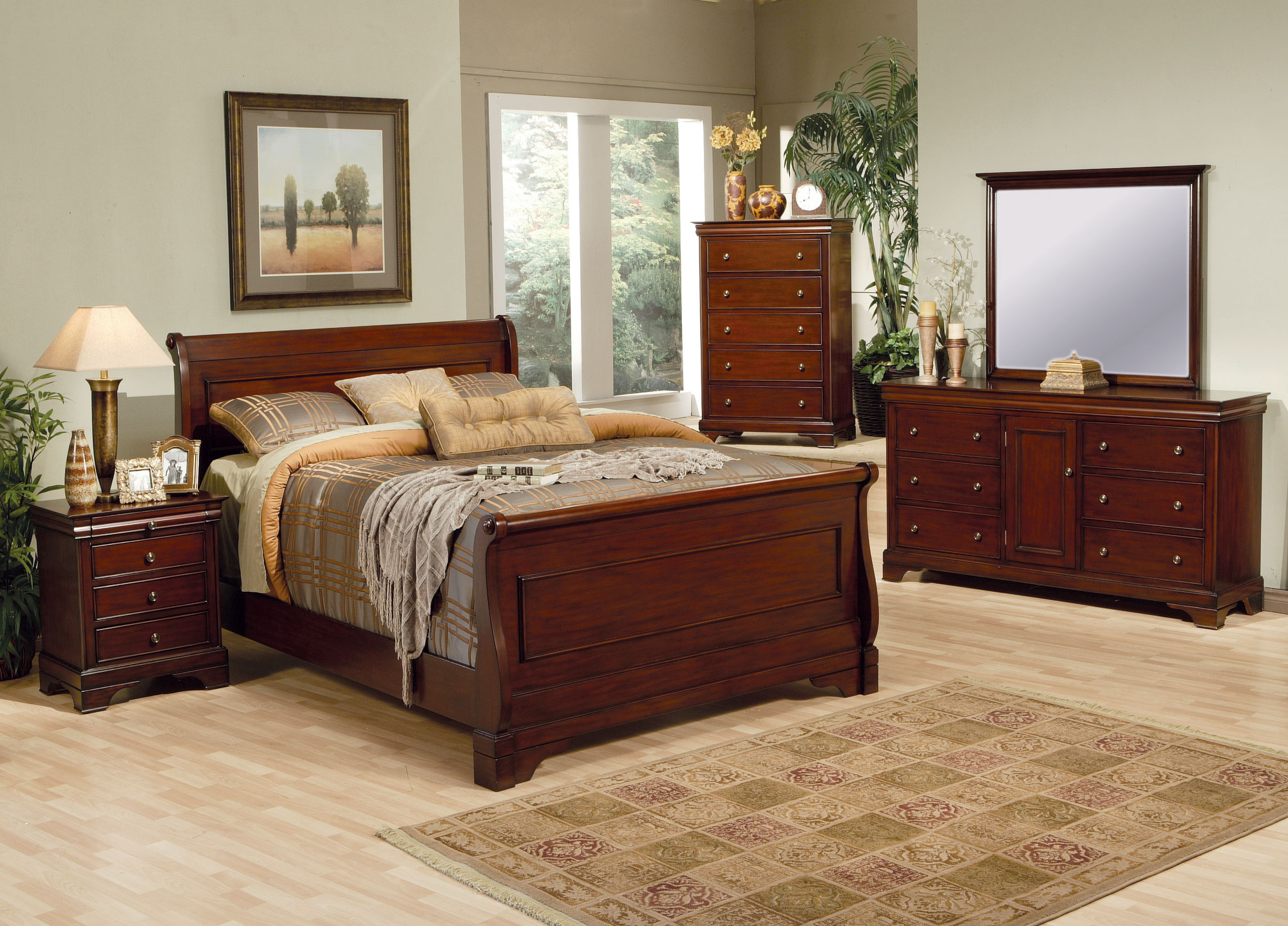 How to style with premium mahogany bedroom furniture