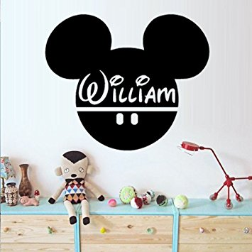 mickey mouse wall stickers write your name mickey mouse wall decal vinyl sticker decals art decor inspgvm