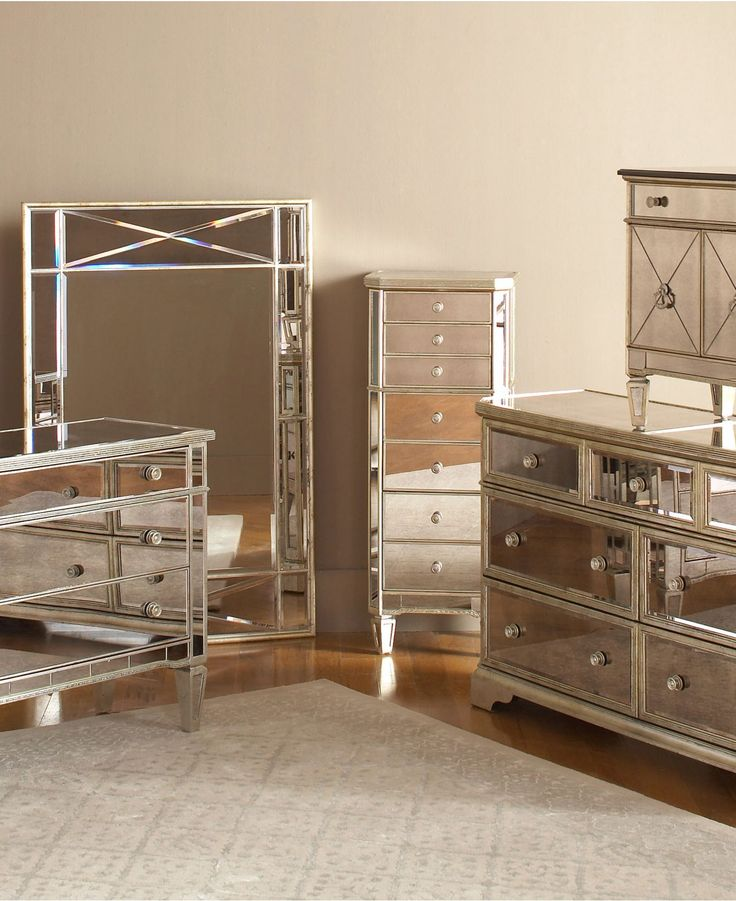 mirrored bedroom furniture set -- if i had this, it would probably be btjpgcf