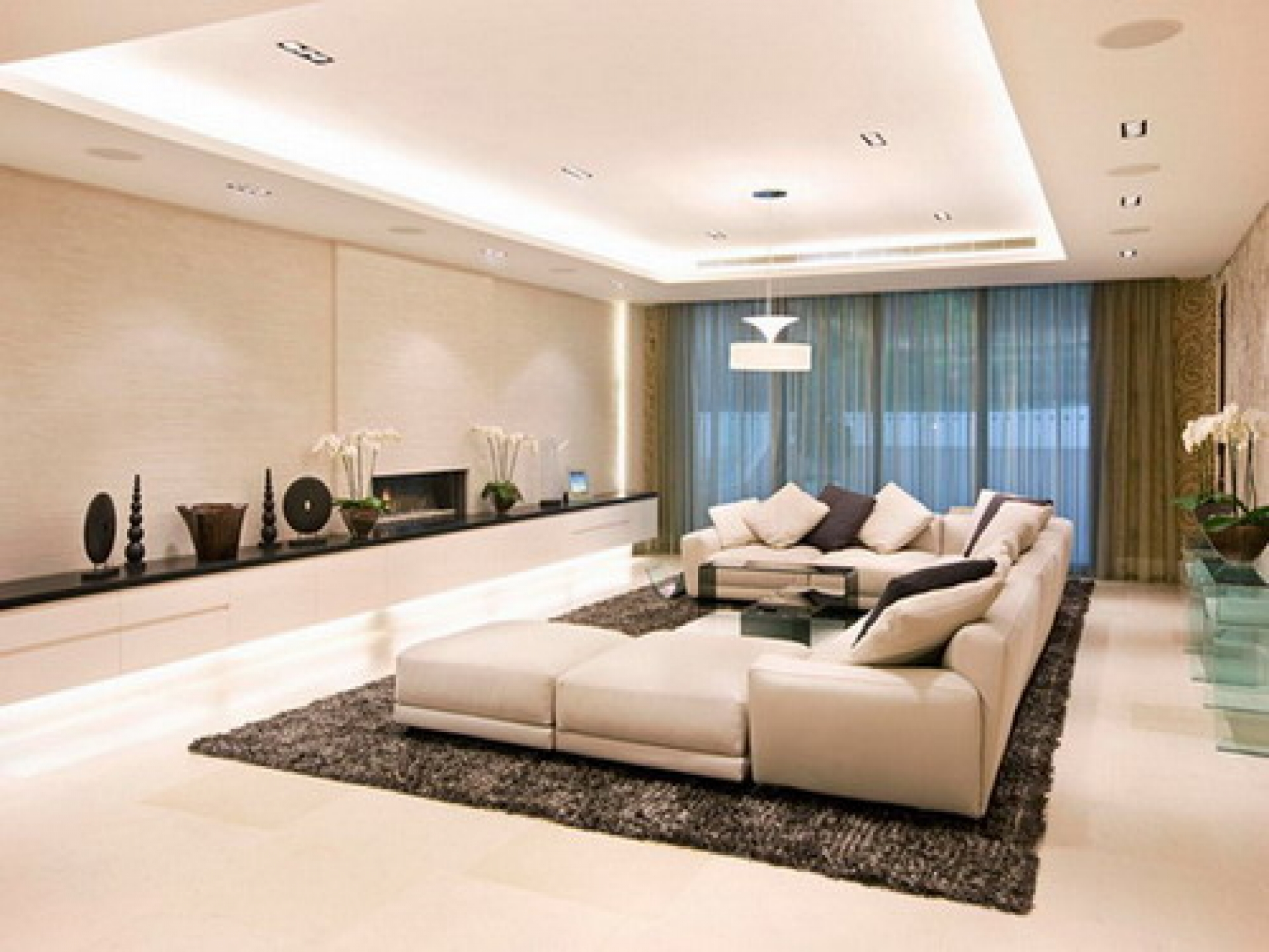 4 types of ceiling lights for living room