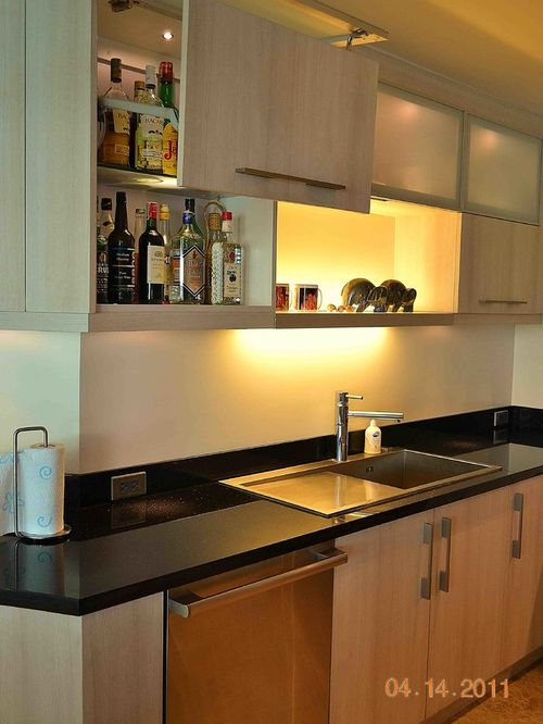 modular kitchen cabinets large modern l-shaped eat-in kitchen idea in other with a single- dbbppyl