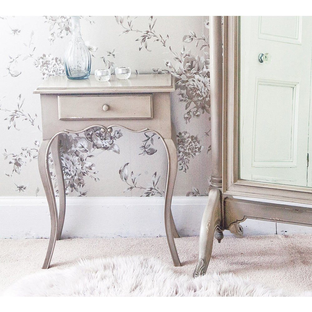 normandy shabby chic bedside table lifestyle. click to zoom nvwspxd