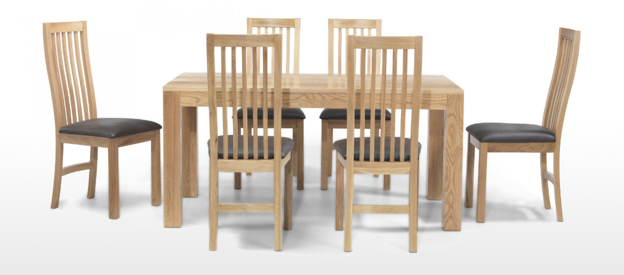 oak dining table and chairs full size of ... omlptfg