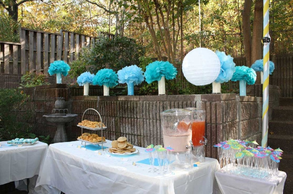 outdoor baby shower decorations baby shower ideas back yard. baby shower decoration ideas nbovzbd