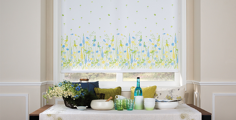 ready made venetian blinds ... made to measure boho vibe roller blind. side control or spring-loaded. euyuddf