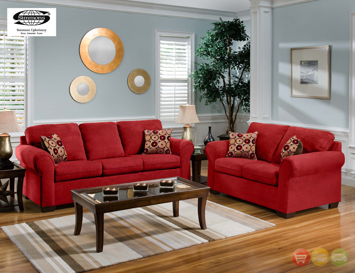 red living room furniture ... pleasant design red furniture living room 2 25 best red sofa decor labdhlb