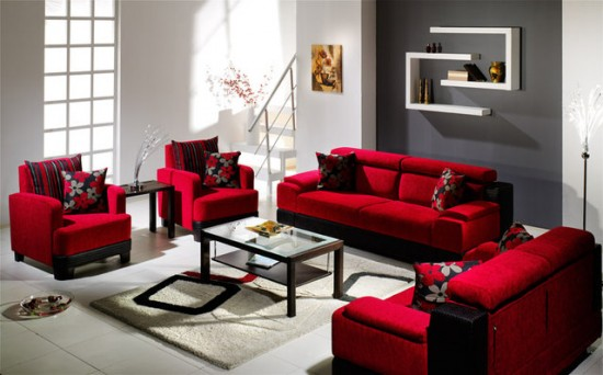 red living room furniture ... remarkable red furniture living room 6 pictures of grey and rooms qxdlbkl