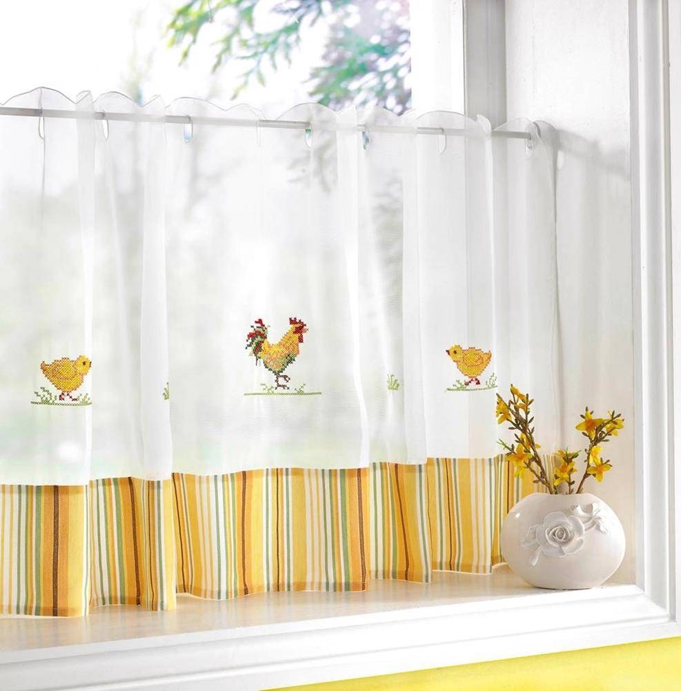 The perks of sunflower kitchen curtains