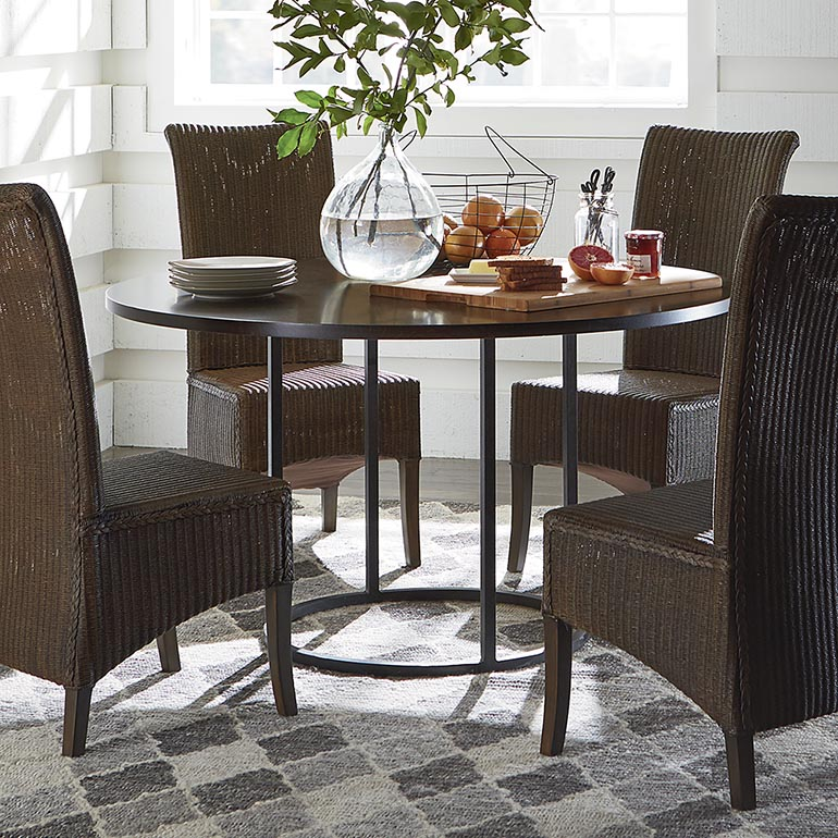 round dining table and chairs custom dining 54 mfbhioa