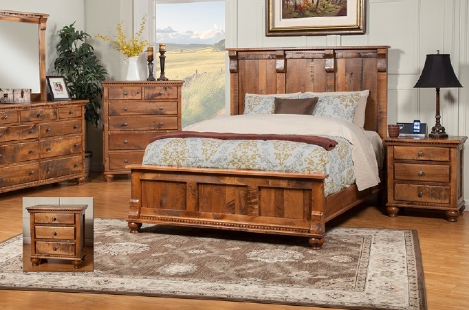 rustic bedroom furniture solid wood sahuaro reclaimed wood set lsiyzun