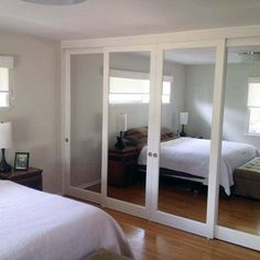 sliding mirror closet doors closet doors: mirrored sliding glass doors | yelp clzawgt