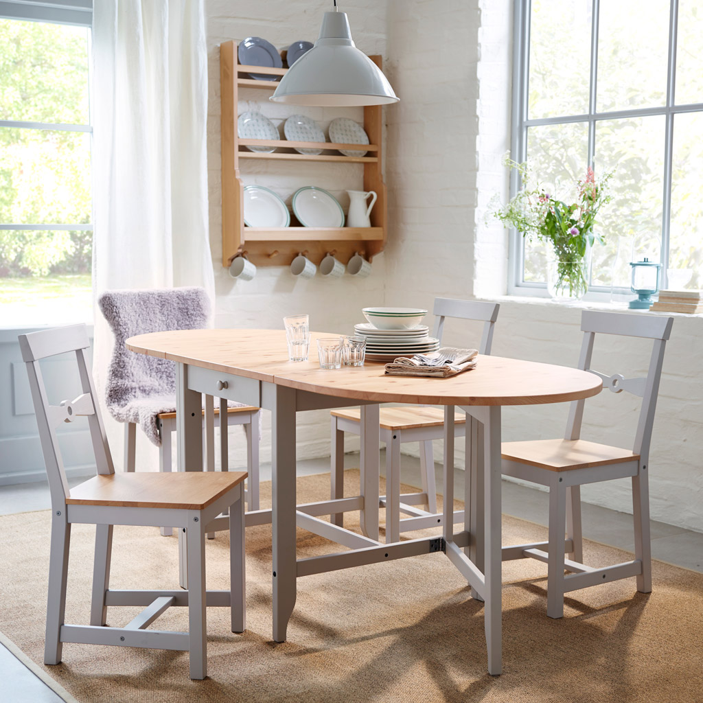 small dining room table and chairs - 4 dabveap