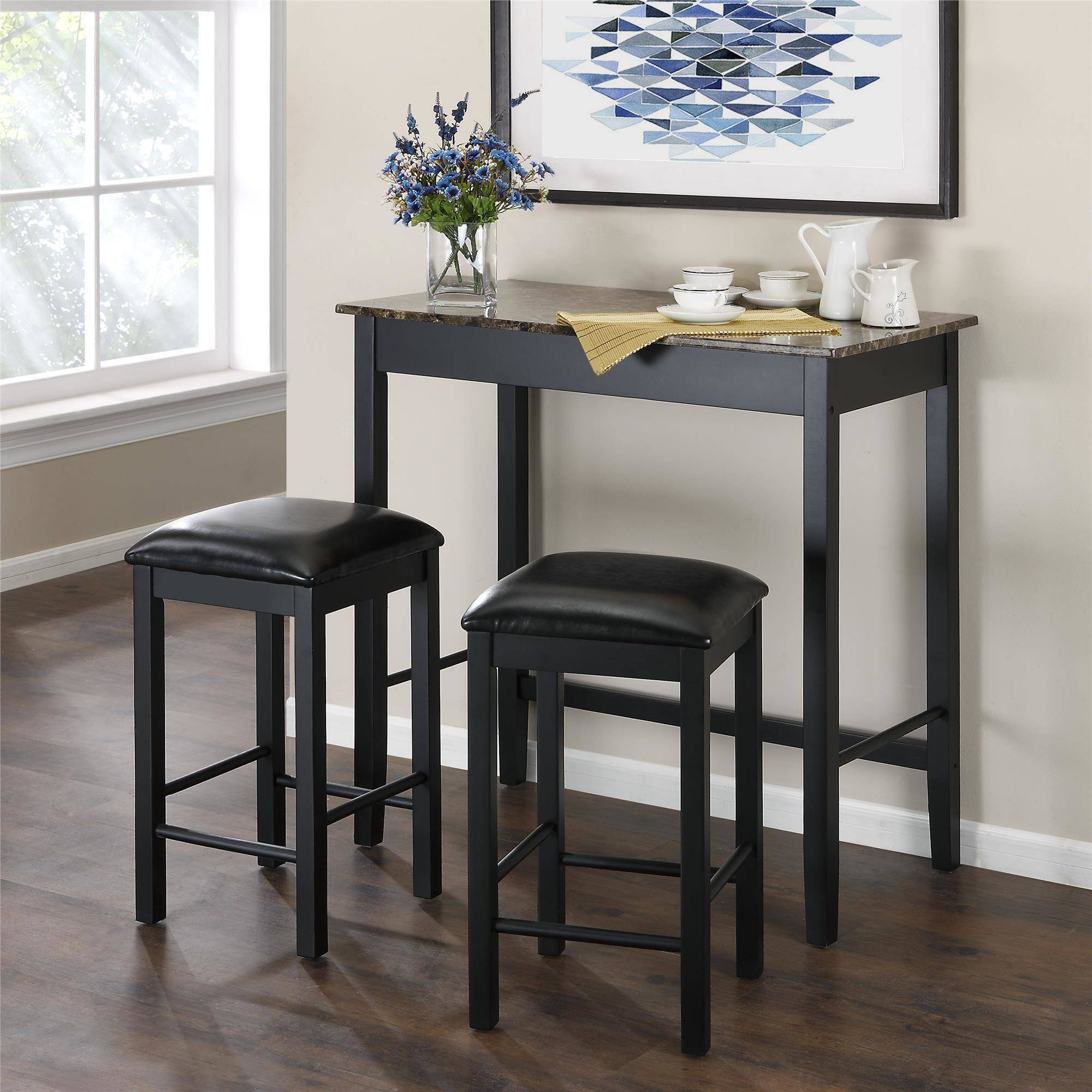 small dining room table and chairs kitchen u0026 dining furniture - walmart.com ovyknpt