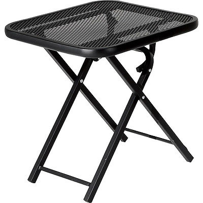 small portable folding table ... patio folding table garden wrought iron outdoor small light sturdy folding ezwshgs