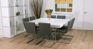 square dining table for 8 ... dining tables, breathtaking white square modern marble square dining  room table cchmrnt