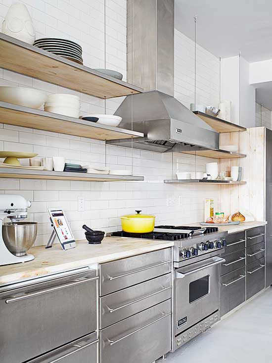 stainless steel kitchen cabinets kitchen cabinet color choices. stainless steel ... rkluwsr