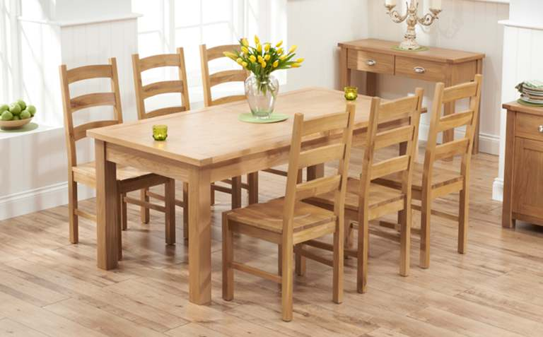 ... stunning oak dining table and chairs with oak dining table sets great ppcehad