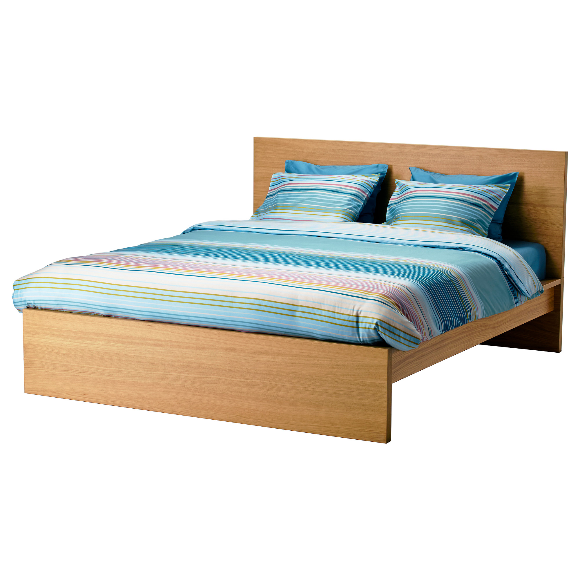 super king size bed frame ikea malm bed frame, high real wood veneer will make this bed age erijtgb