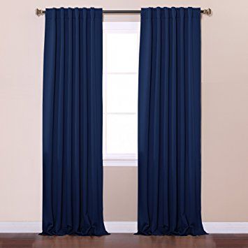 thermal blackout curtains best home fashion thermal insulated blackout curtains - back tab/ rod  pocket wdjyvmo