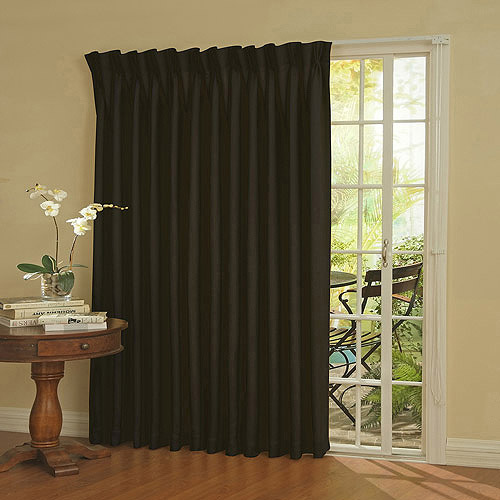 thermal blackout curtains eclipse thermal blackout patio door curtain panel gpigbdt