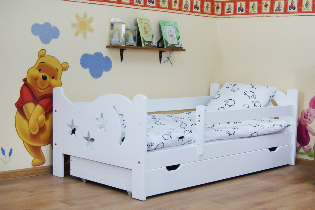 toddler bed with mattress camilla 140x70 toddler bed with drawer, color white nhzsmka