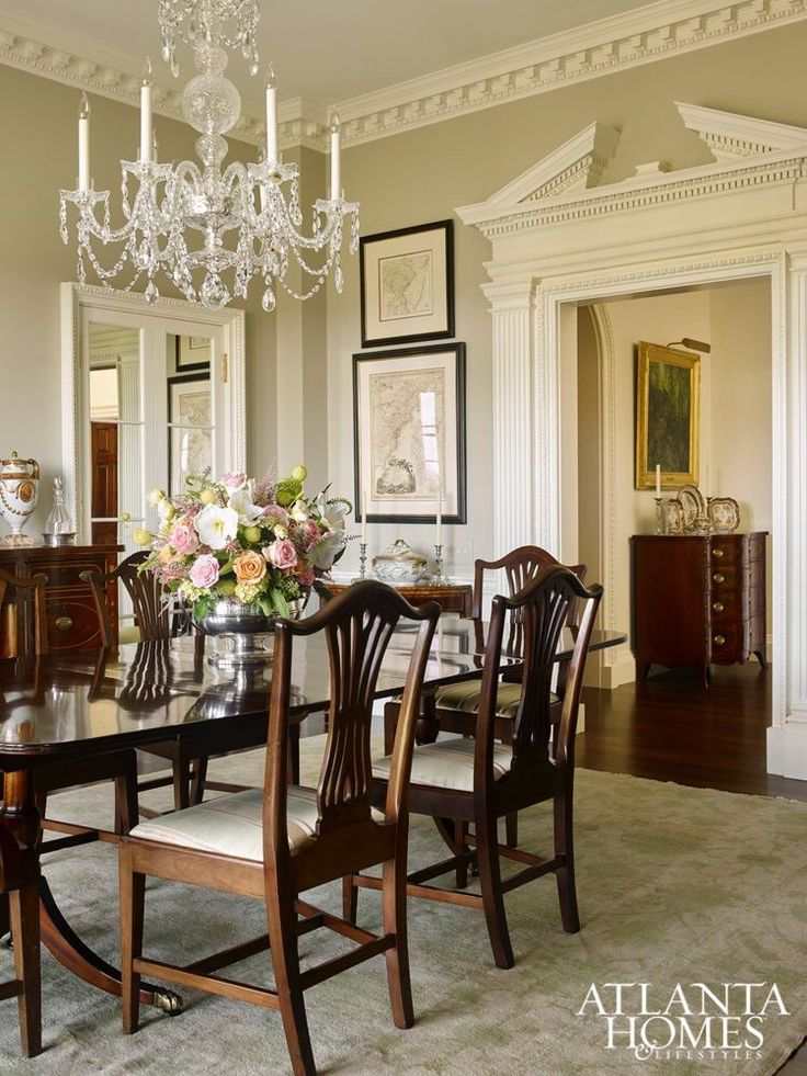 traditional dining room sets traditional dining rooms. home and art: classic and traditional | zsazsa  bellagio purukaq