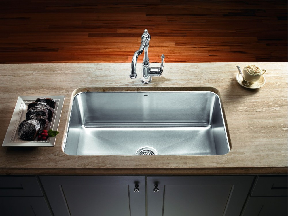 undermount stainless steel kitchen sink ... sinks, undermount stainless sink kohler undermount kitchen sink magnum  large single fqtdvdo