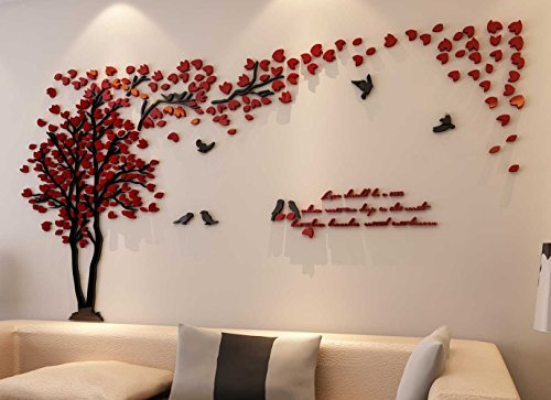 wall stickers for living room 3d couple tree wall murals for living room bedroom sofa backdrop tv wall ouciyyb