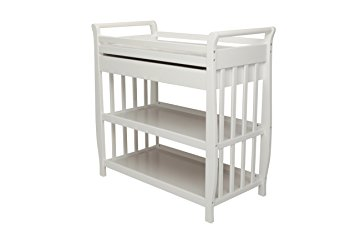 white baby changing table athena nadia baby changing table, white axnqfqq