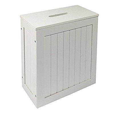 white bathroom storage unit woodluv wooden shaker slimline multi-purpose bathroom storage unit, white fjsiylt