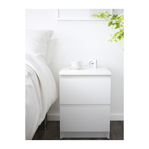white bedside table with drawers ikea malm chest of 2 drawers can also be used as a bedside xpepgjz