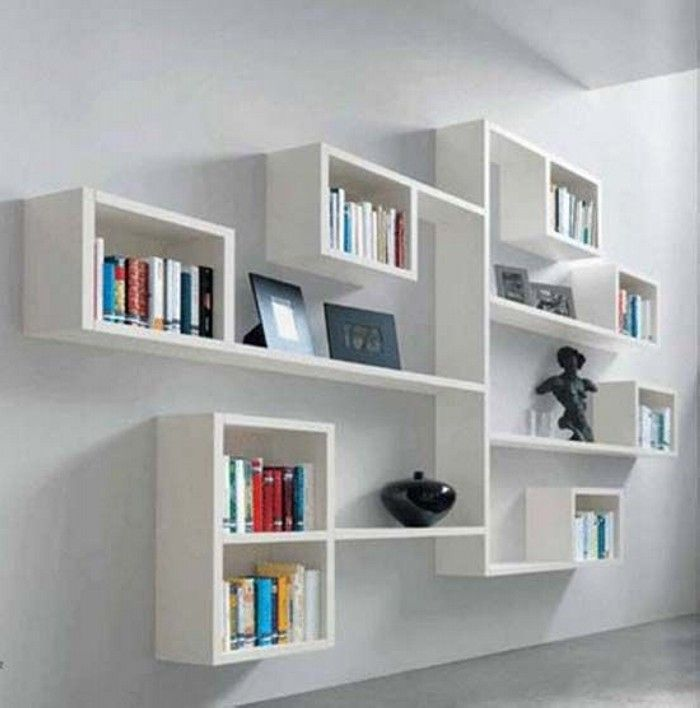 white wall mounted shelves best 25+ diy wall shelves ideas on pinterest | picture ledge, picture errpoab