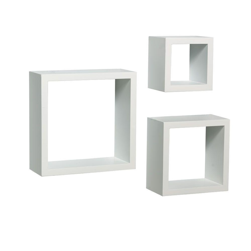 white wall mounted shelves d wall mounted white shadow box decorative shelf qswgzkk