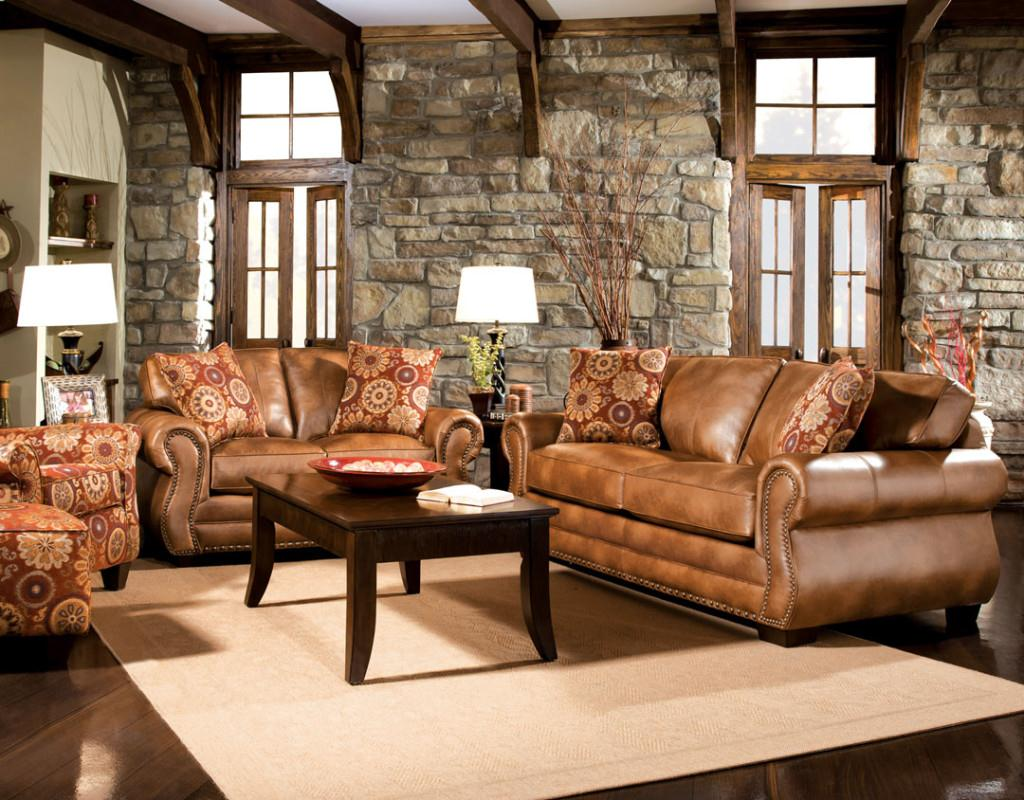 winsome rustic living room furniture sets mesmerizing leather modern luxury  beige stone dbrbkdu