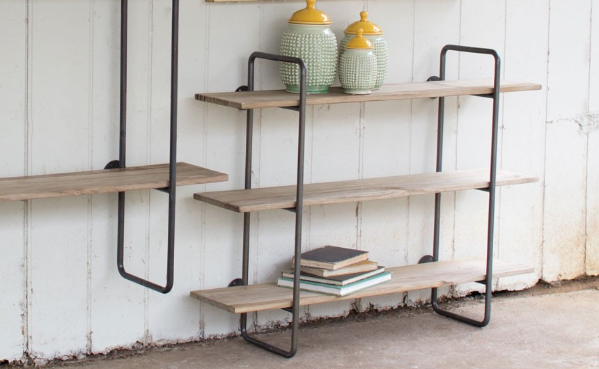 Why wood and metal wall shelves are the ultimate choice