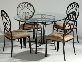 wrought iron dining table black wrought iron table and chair sets | wrought iron jplkptz