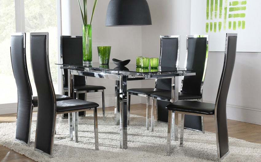 Amazing black dining table and chairs extraordinary glass dining table and chairs ds10004216.jpg chair full  version ... nogrcdj
