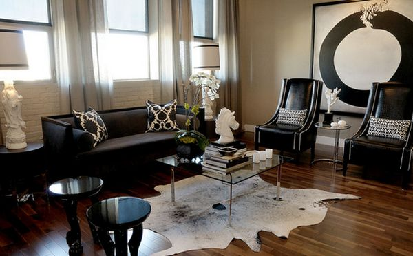 Amazing black living room furniture textures and patterns. hhwonrc