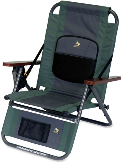 Amazing comfortable camping chairs gci outdoor wilderness recliner camp chair avqezxw