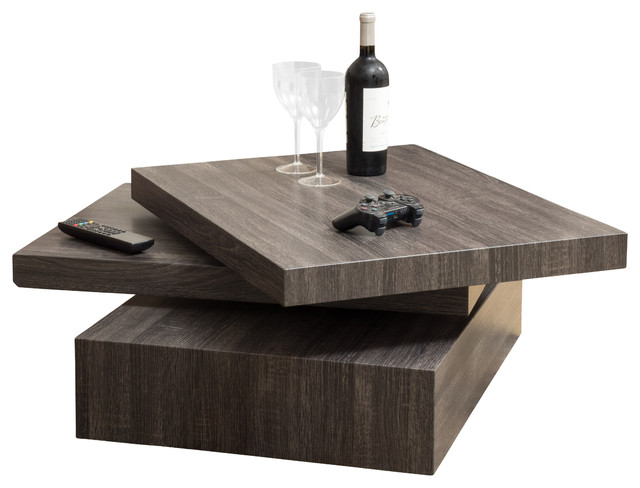Amazing contemporary coffee tables haring square rotating coffee table contemporary-coffee-and-accent-tables rhjrsai