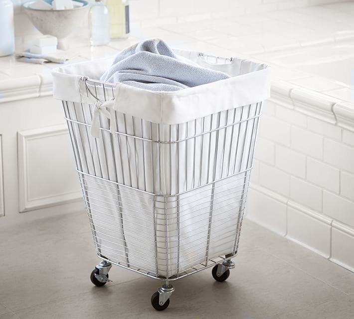 3 choices for a practical laundry basket with wheels