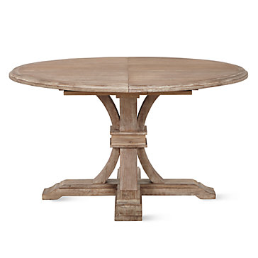 Amazing round extendable dining table archer wash oak extending pedestal dining table syymqvg
