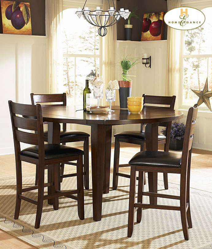 Amazing small dining room table sets ... dining tables, awesome brown round modern wooden small dining room  table kouitrb