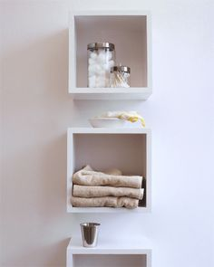Amazing wall mounted cube shelves ... mounted grey colored wall cube design ceramic books over the toilet cqmknhp